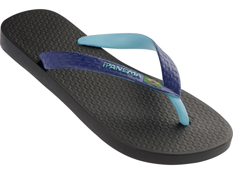Flip-flops - Brazil Bicolor Black/blue