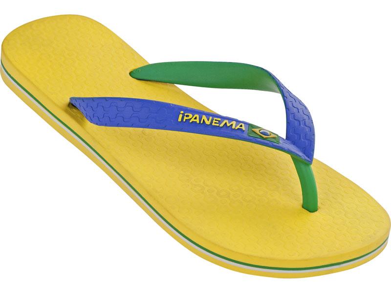 Flip-flops - Brazil Bicolor Yellow/blue