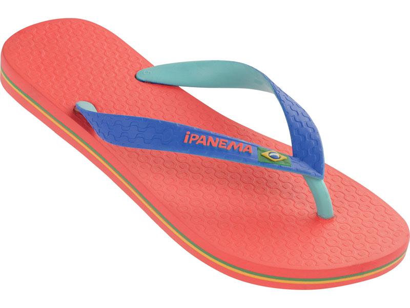 Flip-flops - Brazil Bicolor Red/blue