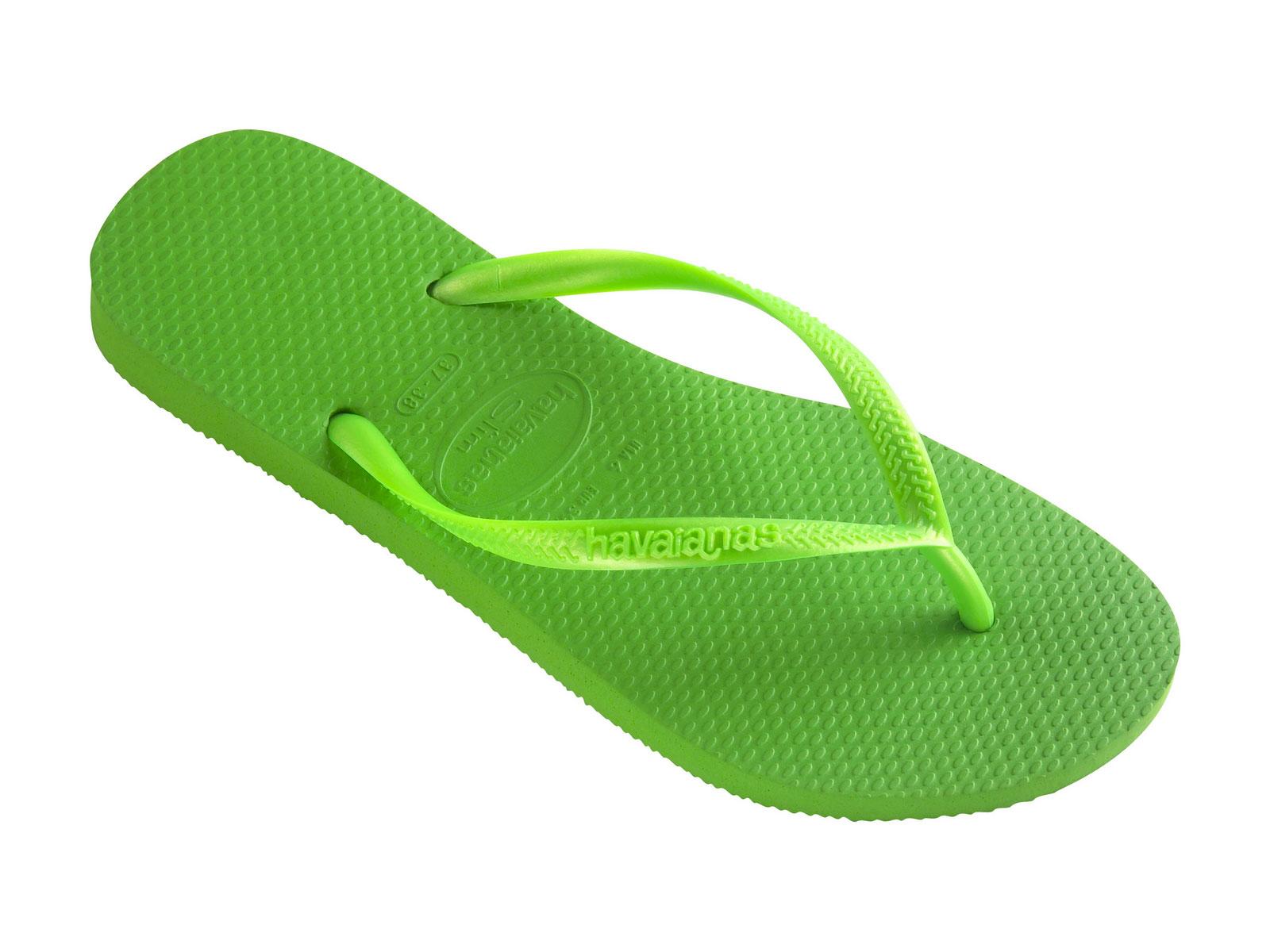 Flip-flops - Slim Neon Green