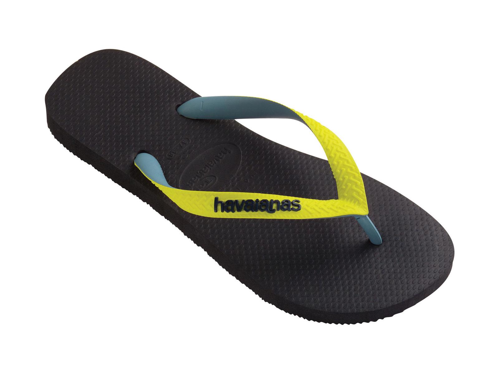 Flip-flops - Top Mix Black-yellow