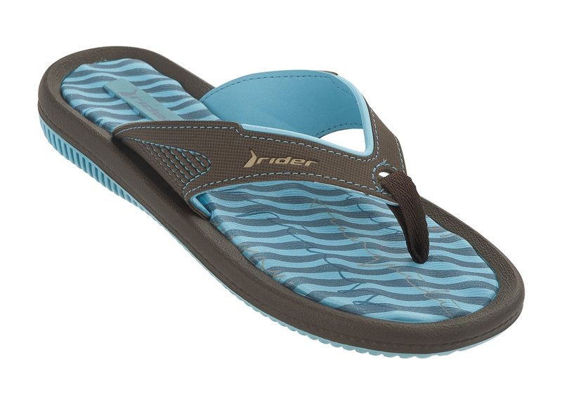 Flip-flops - Dunas Vi Blue/brown