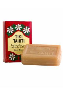 Rastlinsko milos 30-% vsebnostjo tahitijskega olja monoi in vonjem tiare - TIKI SAVON TIARE TAHITI TIARE 130g