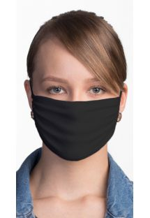 Reusable black face mask - FACE MASK BBS02
