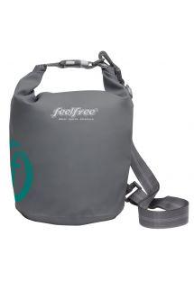Grey waterproof bag 5 L - DRY TUBE 5L GREY
