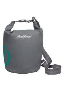 Grey waterproof bag 3 L - TUBE MINI 3L GREY