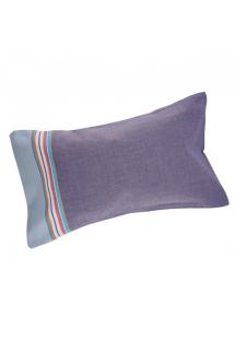 Nadmuchiwana poduszka plażowa w szarej poszewce - RELAX HENDAYE