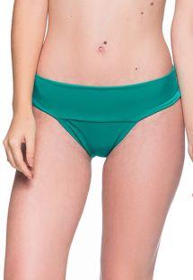 Grüne Bikinihose mit breiten Seiten - BOTTOM BASE ARQUIPELAGO