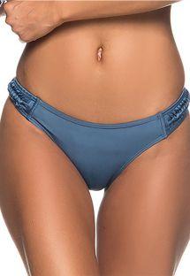 Dunkelblaue Bikinihose, geflochtene Seiten - BOTTOM TRESSE ELEGANCE