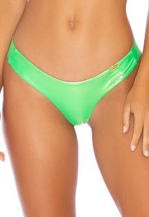 BOTTOM HEAVY METAL RUCHED NEON LIME