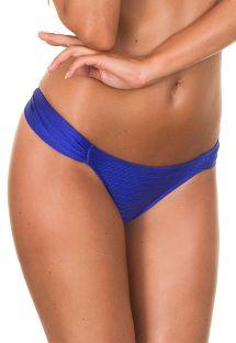 Dunkelblaue satinierte Bikinihose - CALCINHA ONIX BLUE