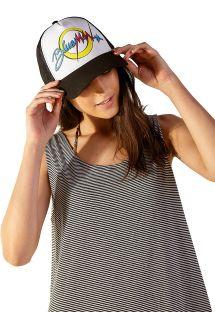 Breathable cap with vintage print - BONÉ VINTAGE BM