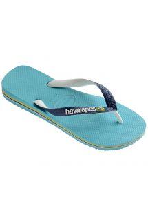 Флип флоп чехли - Havaianas Brasil Mix Blue