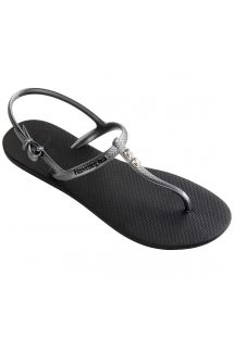 Chinelos - Havaianas Freedom Crystal Black/Graphite