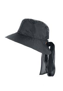 Black hat with a tied bow - CHAPEAU MONACO PRETO