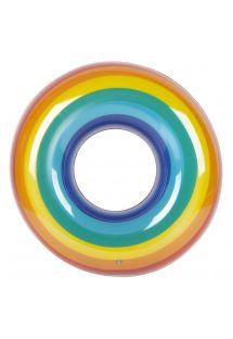 Inflatable ring - rainbow - RING RAINBOW