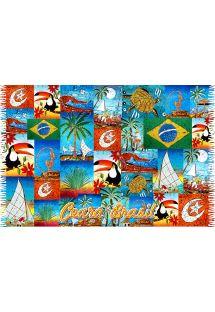 Vintage Ceara patchwork pareo - CANGA CEARA PATCHWORK