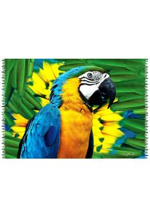 Brazilian beach towel - CANGA FACE ARARA