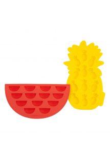Eis Silikonformen - Ananas & Wassermelone - FRUIT ICE TRAYS