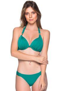 Grüner wattierter Triangel-Bikini, Accessoire - TURBINADA ARQUIPELAGO