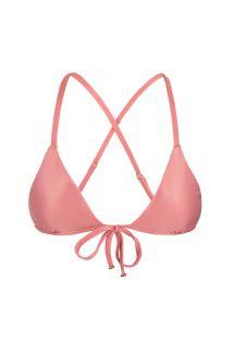 Pink peach triangle crossover top - TOP BELLA TRI ARG MICRO