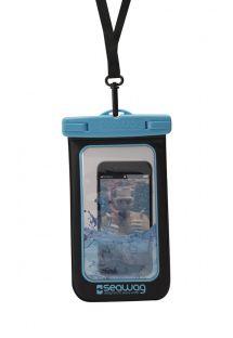Waterproof case for smartphone BLUE - WATERPROOF CASE BLUE