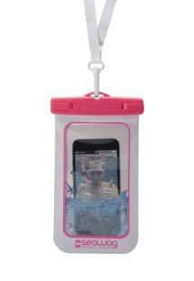 Waterproof case for smartphone PINK - WATERPROOF CASE PINK